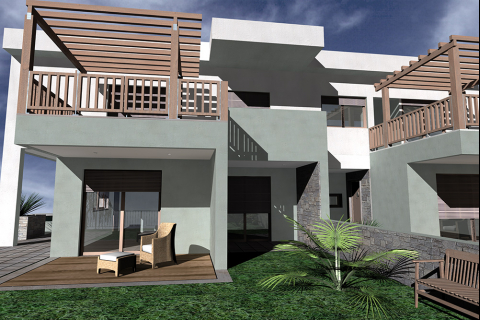 Five double storey residences