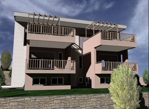 Two double storey residences